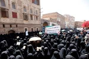 Protesters in Yemen target child bride law
